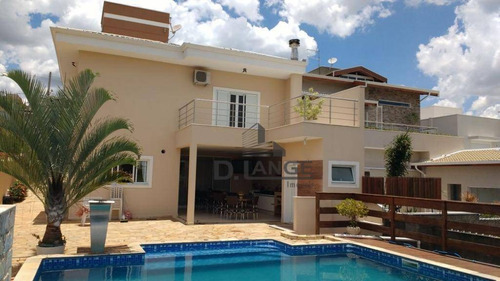 Casa Com Vista Permanente, 3 Suítes À Venda, 350 M² Por R$ 1.700.000 - Swiss Park - Campinas/sp - Ca11833
