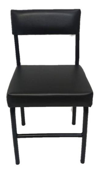 Cadeira Baixa Pequena Para Manicure Preto Tamanho P