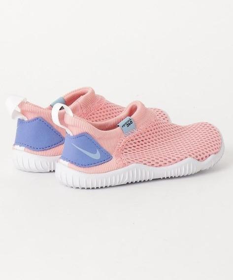 Nike Niña Aqua Sock Tenis Para Agua Coral 943759 605
