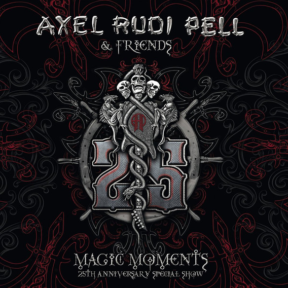 Cd : Axel Rudi Pell - Magic Moments - 25th Anniversary...