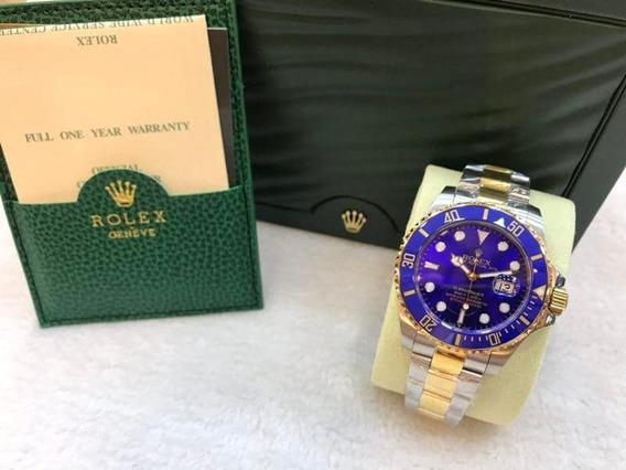 Relógio Masculino Luxo C/caixa+garantia 3 Anos!!!