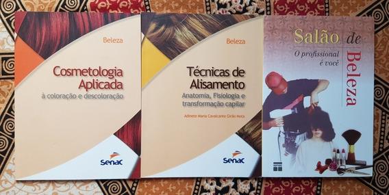 Lote / Kit De Livros Senac Salão De Beleza
