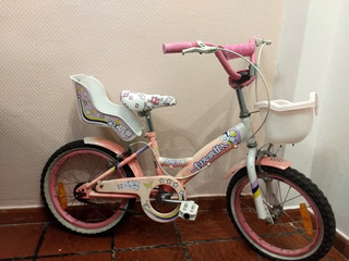 Bicicleta Aurorita Rodado 16 Muy Poco Uso Para Nena