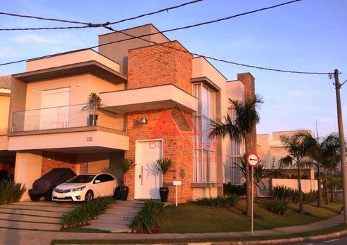 Casa Com 3 Suítes À Venda, 360 M² Por R$ 2.300.000 - Condomínio Ibiti Royal Park - Sorocaba/sp - Ca0313