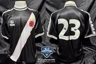 Camisa Do Vasco Oficial I Vg 2001 #23 Usada Em Jogo G