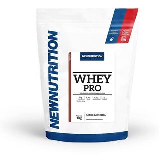 Whey Pro 60% De Proteina 1 Kg Refil - Protein - Suplemento De Proteina De Soro Do Leite Concentrada - Newnutrition