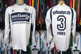 Wil 1900 2004 Camisa Titular G Mangas Longas # 3 Pires.