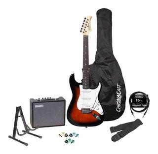 Guitarra Eléctrica Silvertone Revolver Ss11 Con Accesorios