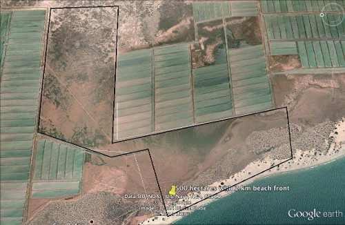 Terreno Con Playa En Sonora De 523 Hectareas Con 2km De Playa