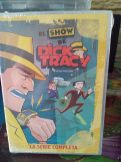 Serie Animada, El Show De Dick Tracy. 4 Dvd