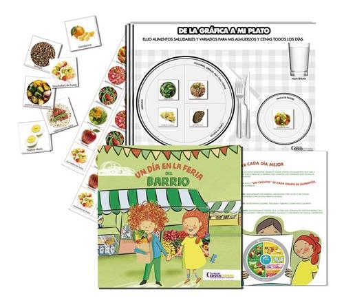 Imagen 1 de 1 de Kit 3: Cuento + Block De Fichas + Planchas De Stickers
