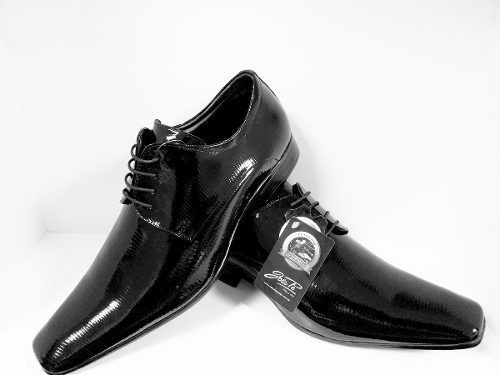 Sapato Masculino Social Jota Pe Verniz