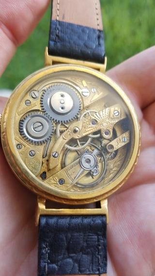 Reloj Archimede 1920s - Movimiento Masónico Grabado A Mano