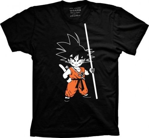 Camisa Dragonball Z Goku Kid Anime