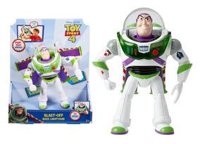 Boneco Toy Story 4 Buzz Lightyear Voo Espacial Mattel Ggh39