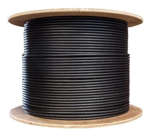 Imagen 1 de 1 de Carrucha Cable Lantek Ltk-c6x Cat6 305 Metros Exterior Puro