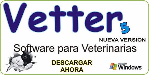 Imagen 1 de 3 de Vetter 5 - Software De Gestión Veterinaria Y Pets Shop
