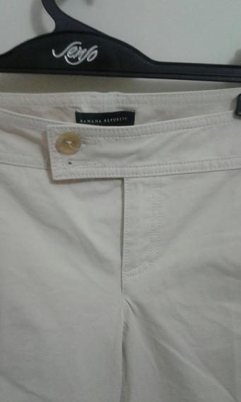 Pantalon Importado Banana Republic Talle 4 Usa