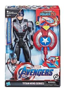 Avengers Titan Hero Power Capitán América E33015730 Hasbro