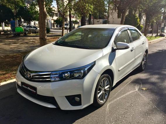 Corolla Xei 2017 Branca Novo Apenas 38.975 Km Rodados !!!