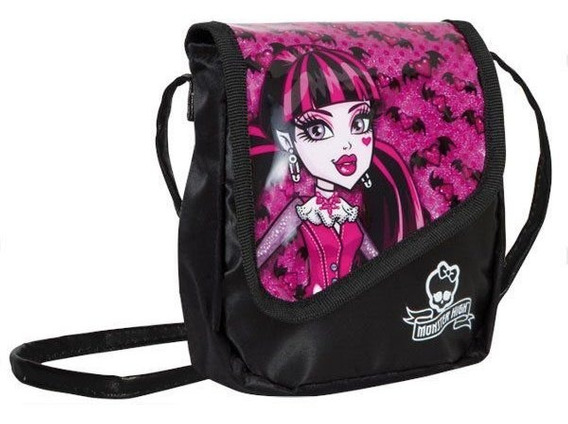 Bolsa Jovem Decorada Monster High Draculaura Sestini
