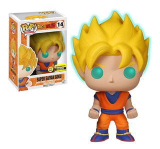 Funko Dragon Ball Z Super Saiyan Goku Glow In The Dark