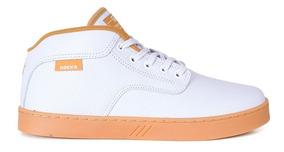 Tênis Hocks On Branco / Dourado Original