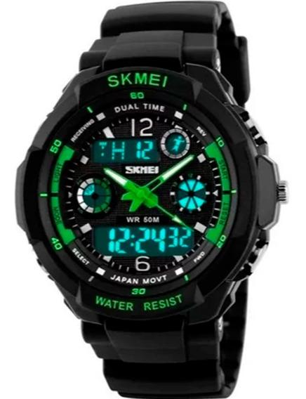 Relógio Masculino Skmei Digital 0931 A Prova D´água 5 Atm