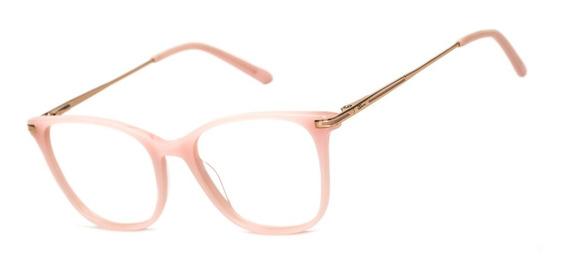 Armação Oculos Ogrife Og 508-c Feminino Com Lente Sem Grau