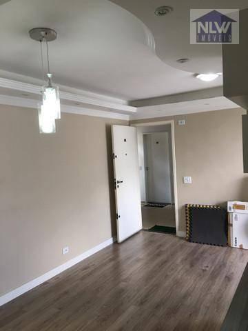 Imagem 1 de 19 de Apartamento Com 2 Dormitórios À Venda, 56 M² Por R$ 270.000,00 - Parque Frondoso - Cotia/sp - Ap3447