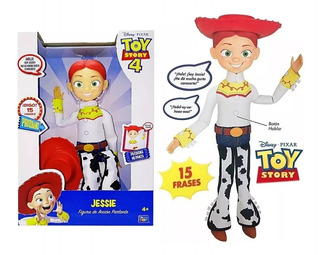 Muñeca Vaquerita Jessie Toy Story 15 Frases Sharif Express