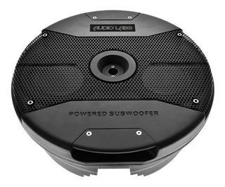 Subwoofer Amplificado Para Llanta De Refacción 15 O Mas Grande 1500 Watts Maximos 250 Watts Rms Audio Labs Adl-65x2w