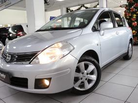 Nissan Tiida 1.8 Sl Flex 5p Teto + Couro !!! Baixa Km