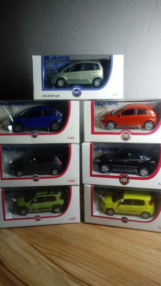 Kit Carros Fiat Escala 1/43 Norev