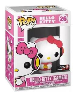 Funko Pop! Gamer Hello Kitty Exclusivo De Gamesstop