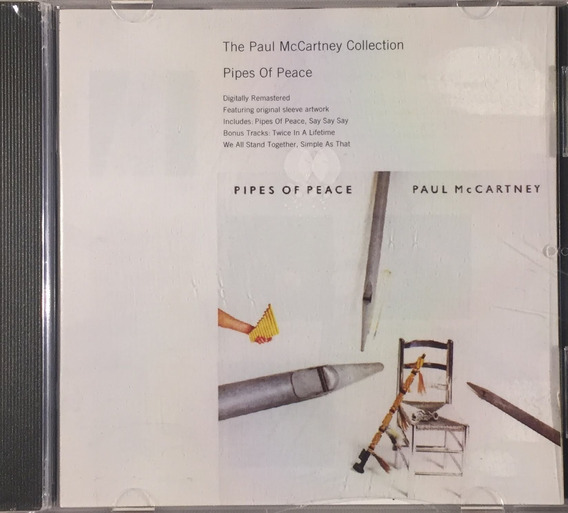 Paul Mccartney Collection - Pipes Of Piece - Cd Imp.lacrado