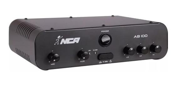 Amplificador Som Ambiente Compacto Nca Sa100 100w Rms Ab100