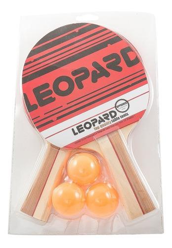 Set Ping Pong 2 Paletas + 3 Pelotas Combo Tenis Mesa Kit Pin