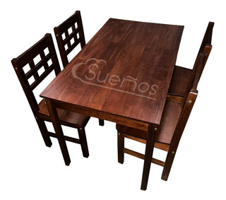 Kit De Mesa Mas 4 Sillas