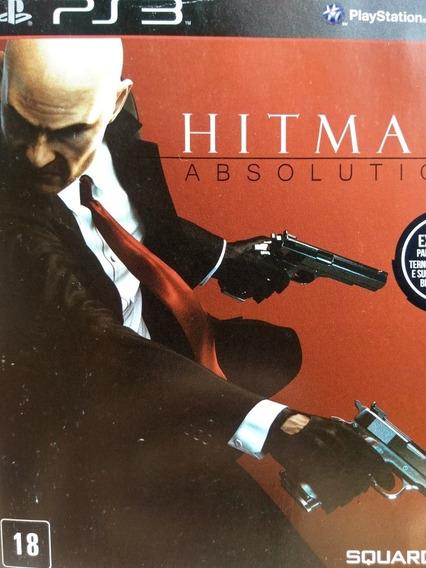 Hitman Absolution Ps3 Original , Mídia Física