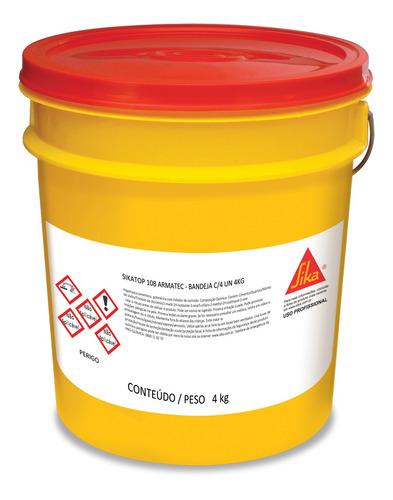 Imagem 1 de 1 de Inibidor De Corrosão Sikatop 108 Armatec 4kg