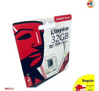 Memoria Micro Sd Hc 32 Gb Kingston / Original / Alta Calidad