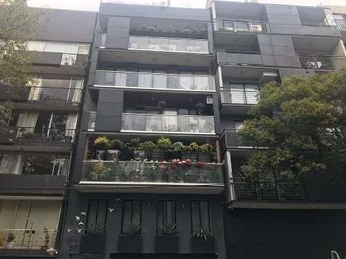 Departamento En Venta En La Colonia Condesa Cuauhtémoc