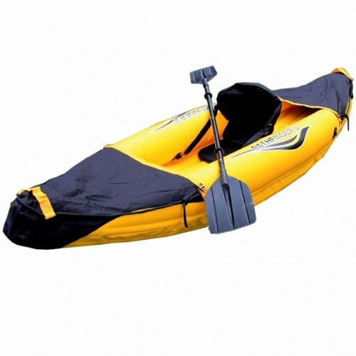 Bote Inflable Reforzado Para 1 Persona Kayak Ecology
