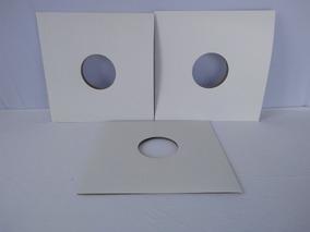 10 Capas Brancas Vinil Lp 12 + Plasticos Sacos Disco