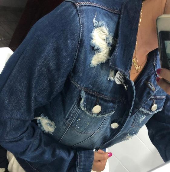 Jaqueta Feminina Jeans - Blusa De Frio