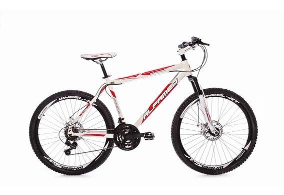 Mountain Bike Alfameq Stroll Feminina Rosa Aro 26 Disco 21v