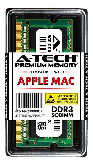 Memoria Ram 8gb Ddr3 1600mhz Pc3-12800 Sodimm A-tech
