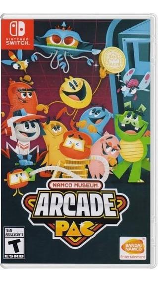 Namco Museum Arcade Pac - Nintendo Switch Midia Física