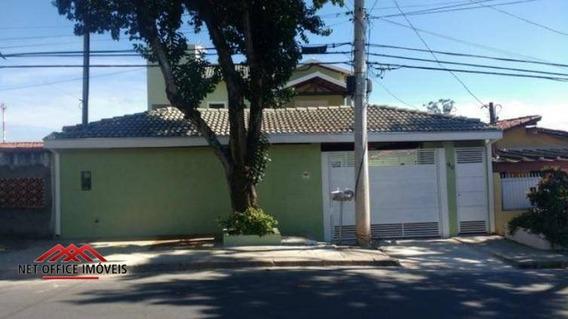 Sobrado Com 4 Dormitórios À Venda Por R$ 659.000 - Jardim Satélite - São José Dos Campos/sp - So0081